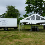 Tent Delivery for Taylor Family Reunion