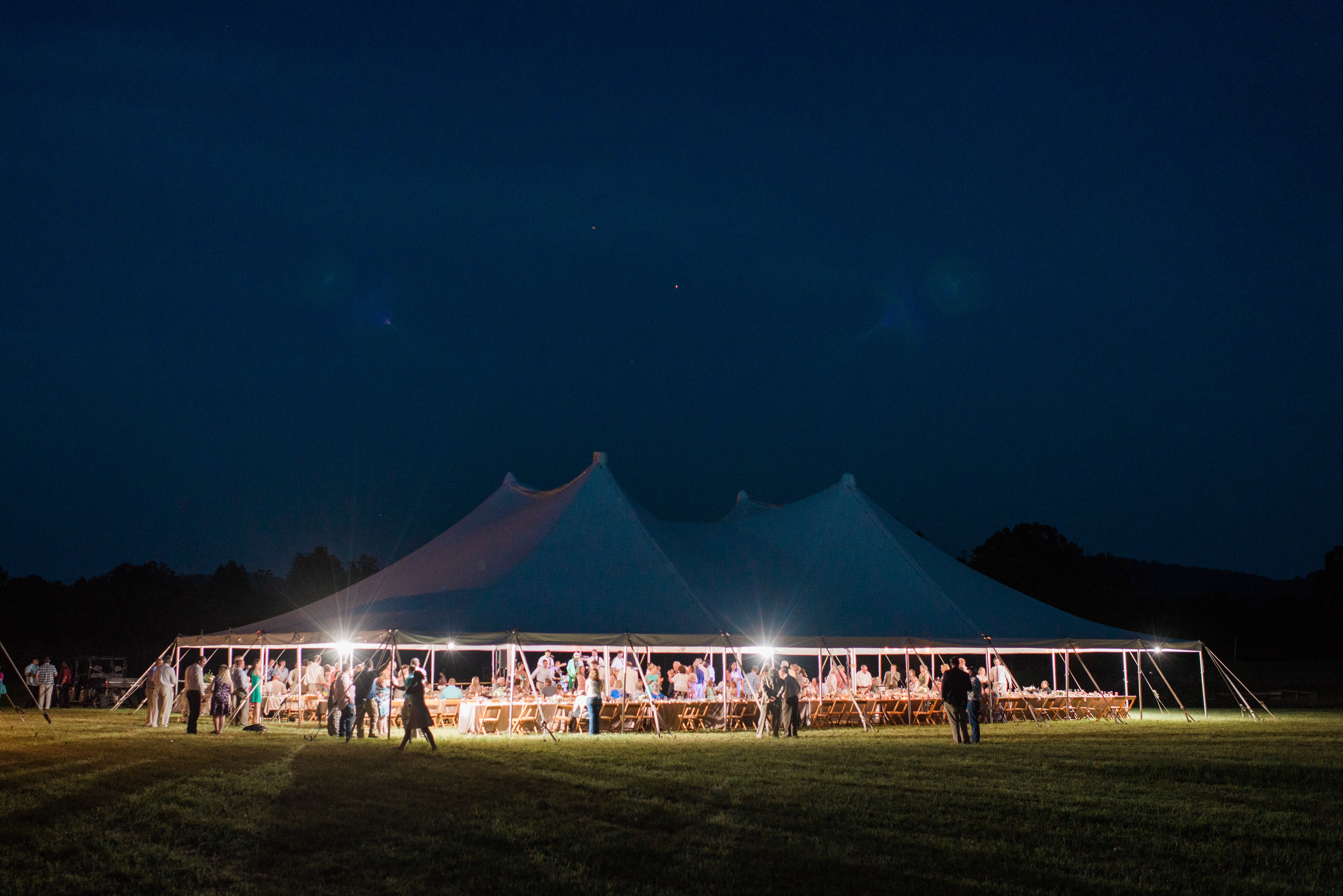 60x90 Pole Tent & Photo Gallery | Gibson Rental