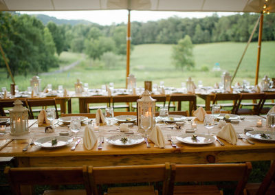 Farm Table Seating
